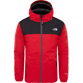 The North Face Elden Triclimate Rain Jacket Boys TNF Red/TNF Black